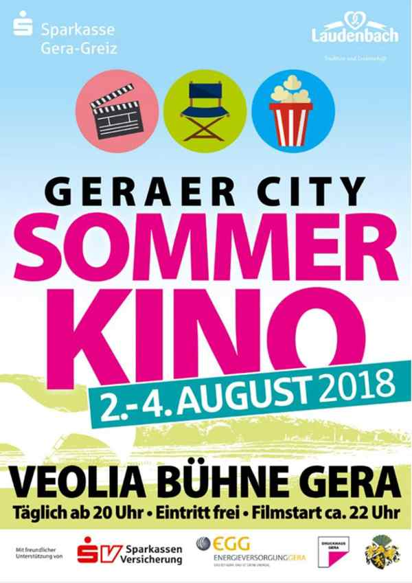 Geraer City Sommerkino 2018